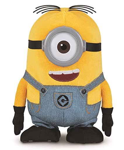Amazoncom Despicable Me Walk Talk Minion Stuart Toy Figure Toys