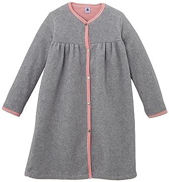 a2ec34bf6a7a4 Petit Bateau - Robe de Chambre Polaire - Uni - Fille - Gris (Fumée ...