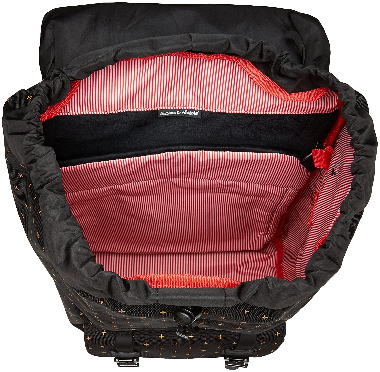 87fdae69d1b Herschel Little America Backpack Black Gridlock- Fenix Toulouse Handball