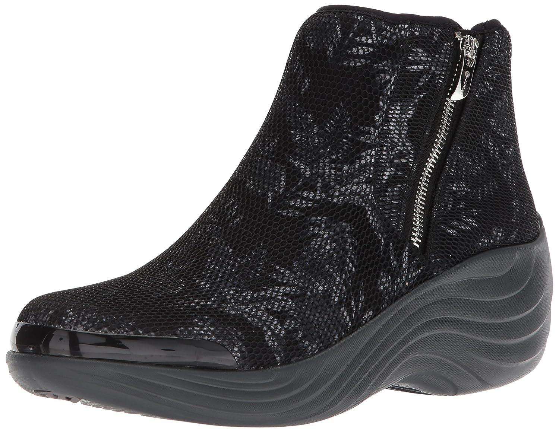 BZees Women's Zora Ankle Boot B076D3GLV1 8 W US|Black