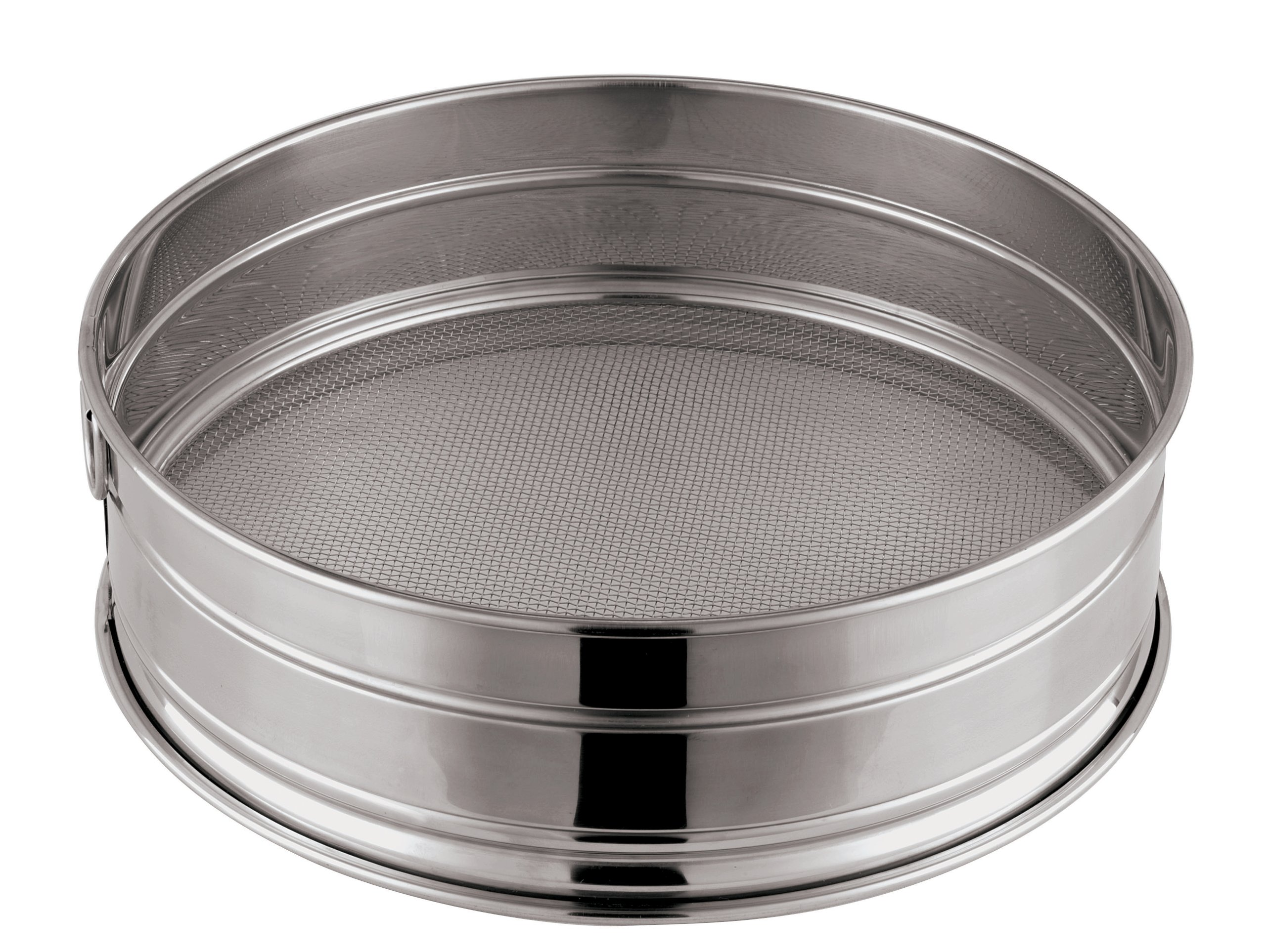 Paderno World Cuisine 11-7/8-Inch Stainless-Steel Medium Mesh Flour Sieve