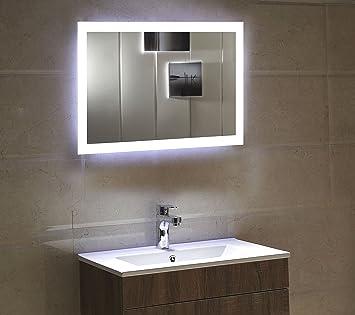 Beleuchtung Badezimmerspiegel dr fleischmann badspiegel led spiegel gs084n mit beleuchtung durch