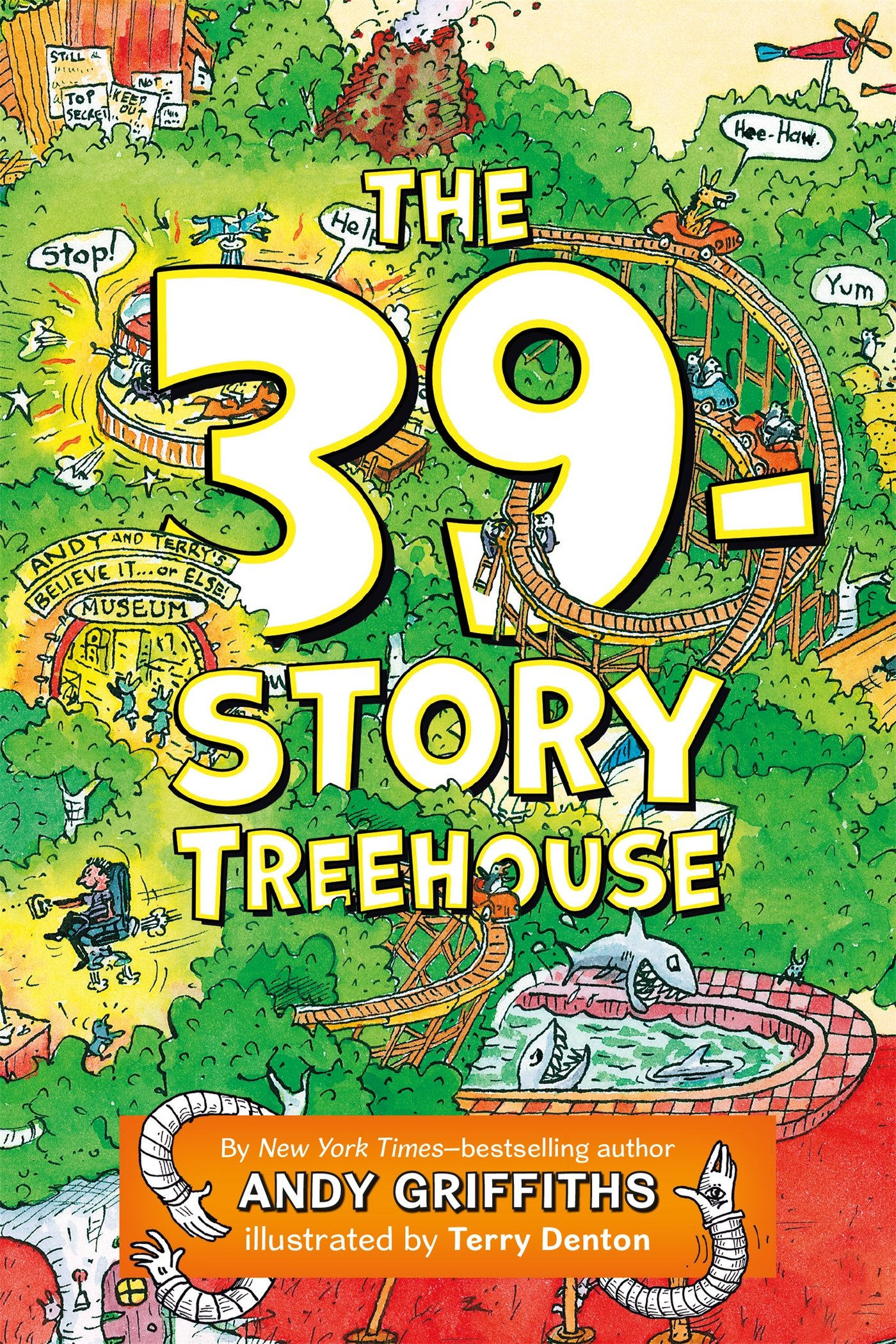 Andy Griffiths Treehouse Part - 42: The 39-Story Treehouse (Treehouse Books): Amazon.co.uk: Andy Griffiths:  9781250075116: Books