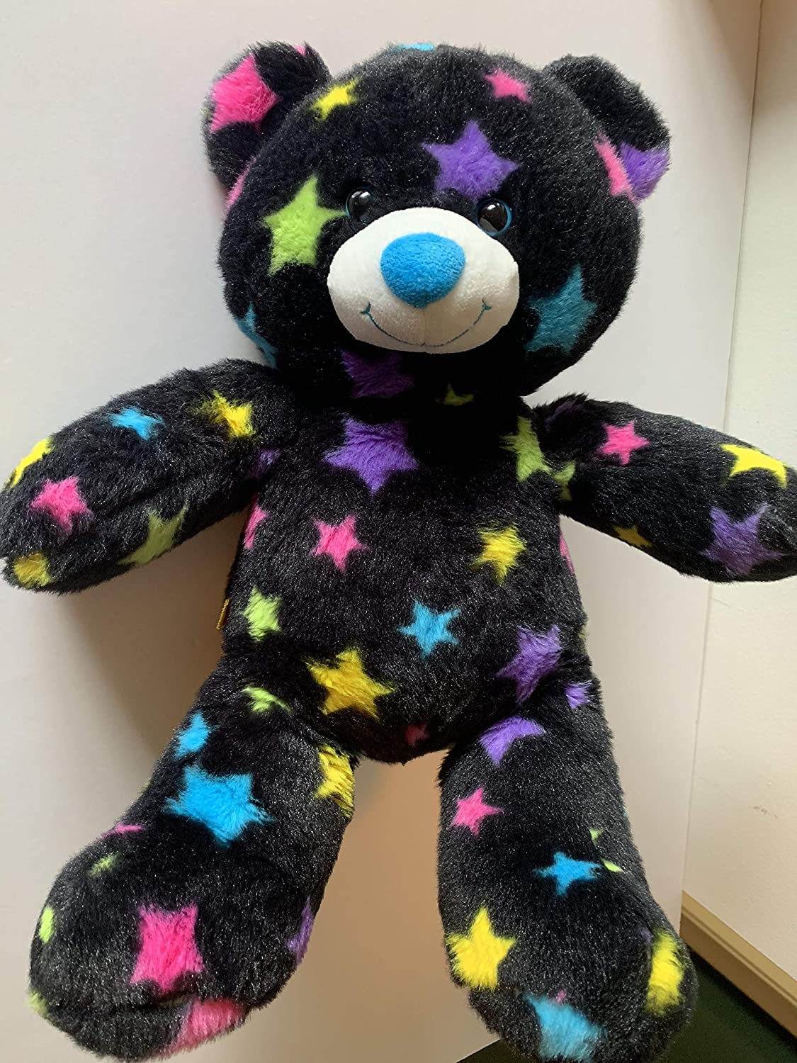 Weighted stuffed animal 3 1//2 lbs sensory toy washable weighted buddy camo or stars teddy bear