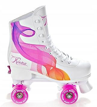 Wählen Sie für neueste bester Wert Modern und elegant in der Mode Raven Rollschuhe Roller Skates Serena verstellbar: Amazon.de ...