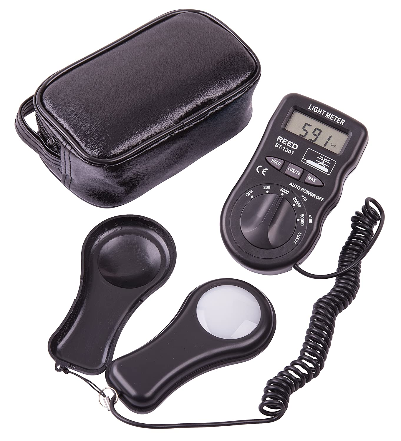 50,000 Lux REED Instruments R8150 Pocket Light Meter 5,000 Foot Candles Fc