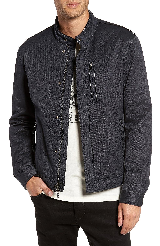 [ジョンバルベイトス スター ユーエスエー] メンズ ジャケットブルゾン John Varvatos Star USA Band Collar Jacke [並行輸入品] B07C3LPCTN  XX-Large