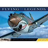 Flying Legends 2018: 16 Month Calendar Includes September 2017 Through December 2018