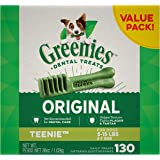 Greenies Original Teenie Natural Dental Dog Treats (5-15 lb. dogs)