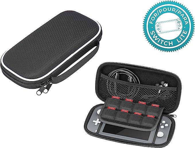 Subsonic - Bolsa dura y a prueba de golpes, Estuche con cremallera de EVA (Nintendo Switch Lite): Amazon.es: Videojuegos
