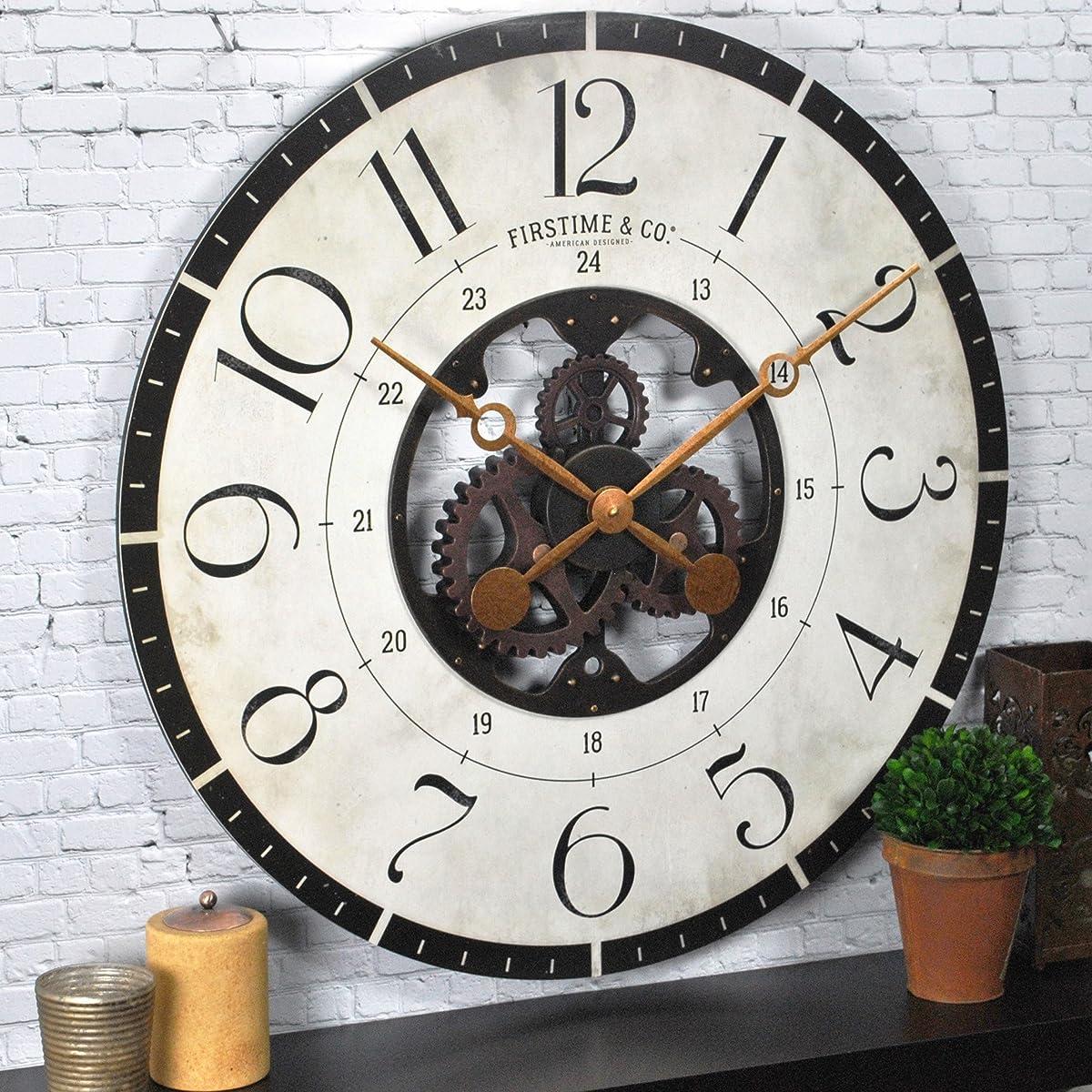 FirsTime Carlisle Gears Wall Clock