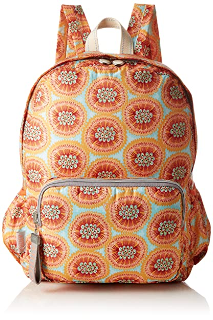 Enjoy Geometrical Backpack Lvz, Womens Handbag, Pink (Rose), 13x40x30 cm (B x H T) Oilily