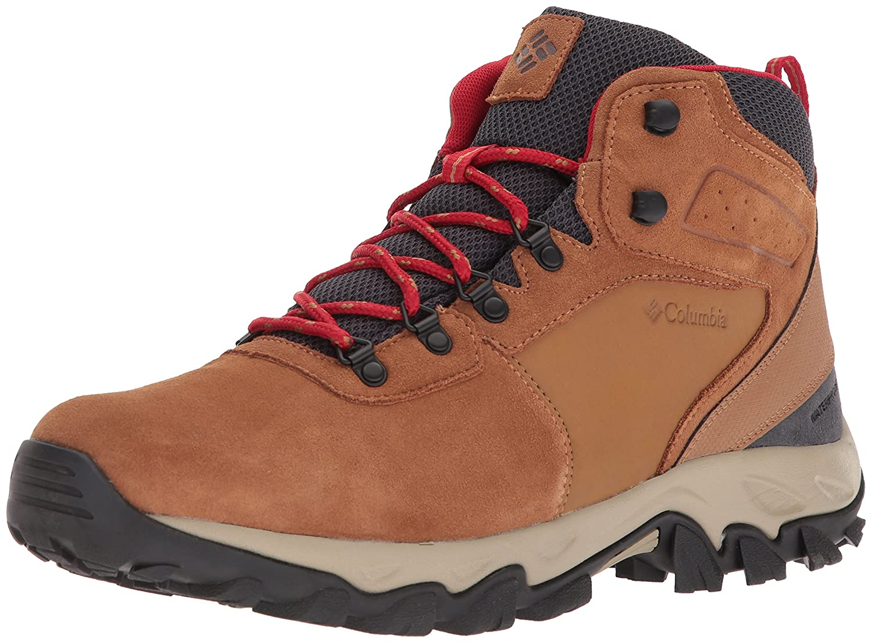 Columbia Men's Newton Ridge Plus Ii Suede Waterproof Wide Hiking Shoe 1746412
