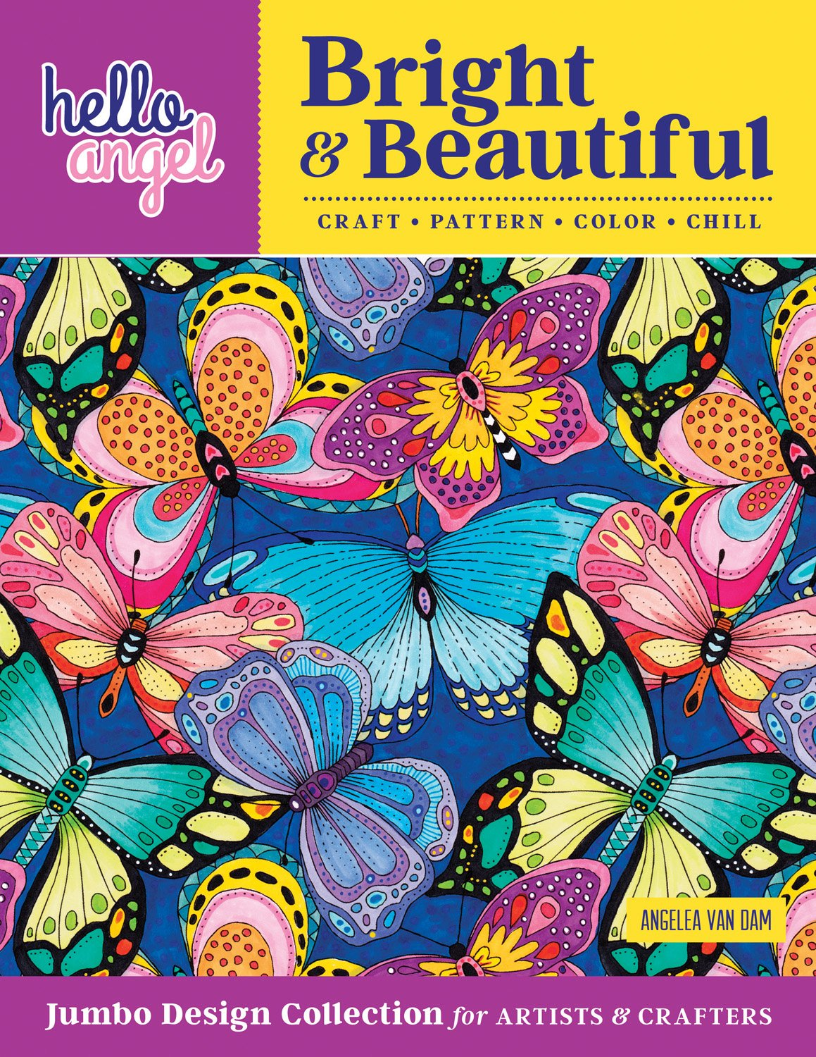 Hello angel bright beautiful jumbo design collection for artists
