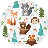 Wild One Woodland Animals Dessert Plates, 24 ct