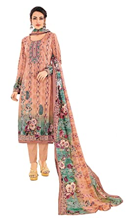 2762b34587 Cambric Lawn Cotton Summer Wear Pakistani Karachi Style Designer Digital  Printed Embroidered Unstitched Salwar Kameez Suit