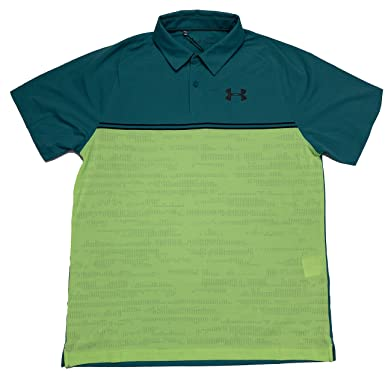 Under Armour Mens HeatGear Loose Fit Tour Caliberate Short Sleeve ...
