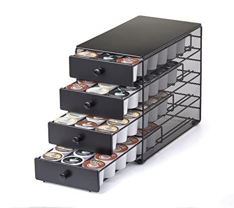 Nifty 4-Tier 72 K-Cup Capacity Storage Drawer Black  sc 1 st  Amazon.com & Amazon.com: Nifty 4-Tier 72 K-Cup Capacity Storage Drawer Black ...