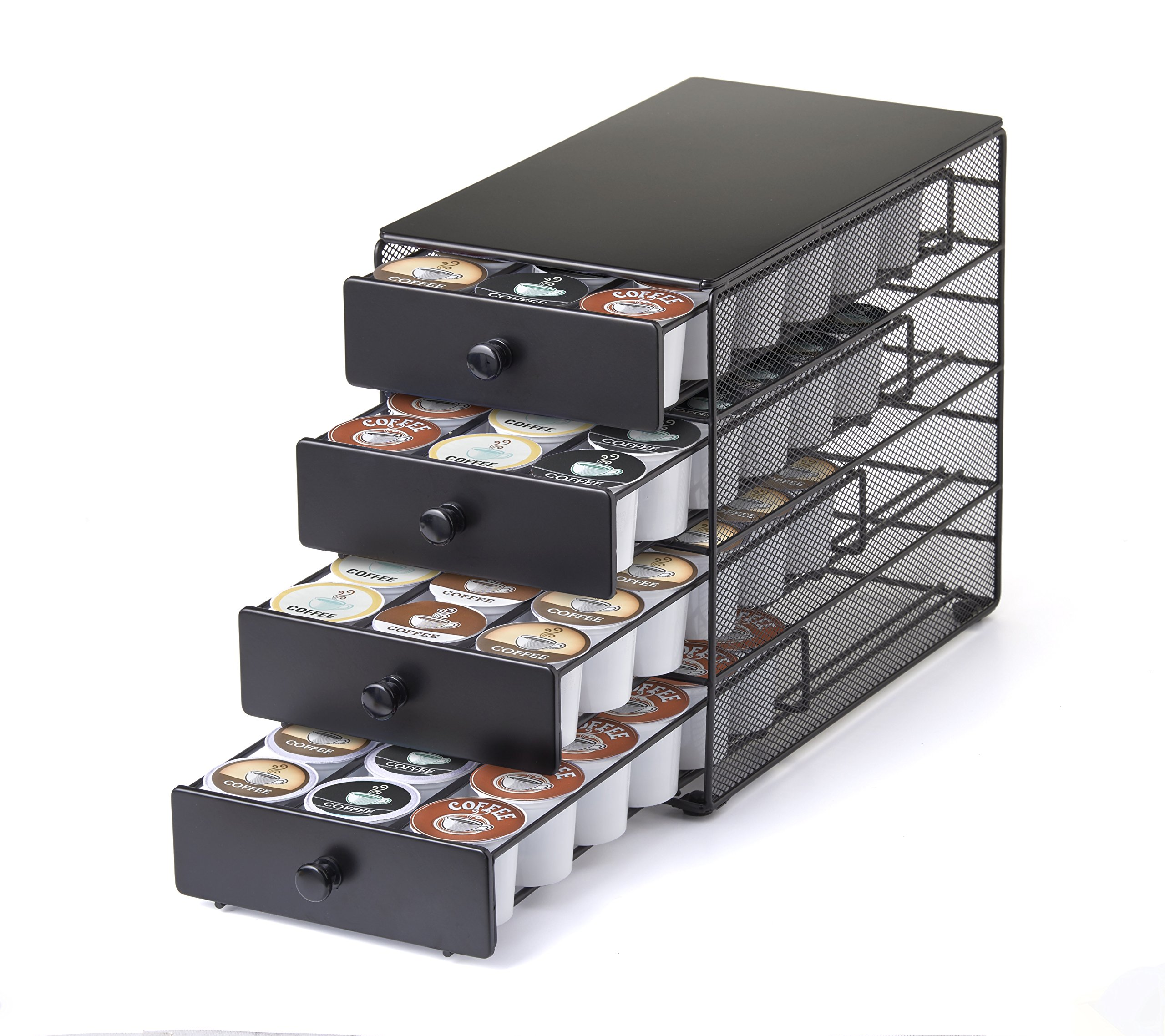 Nifty 4-Tier 72 K-Cup Capacity Storage Drawer, Black