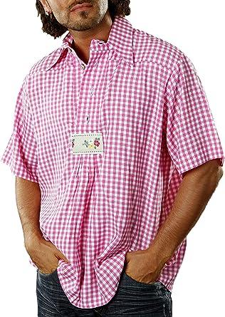 Traje Camisa para Hombres Rojo Blanco Multicolor XX-Large ...