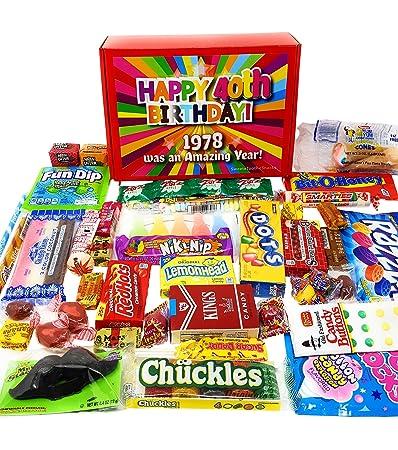 40th Nostalgic caja de regalo de cumpleaños para 1977 ...