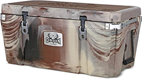 Orion Heavy Duty Premium Cooler 85 Quart, Desert , Durable Insulated Outdoor Ice Chest for Maximum Cold Retention - Portable, Bear Resistant, and Long Lasting, Great for Hunting, Fishing, Camping