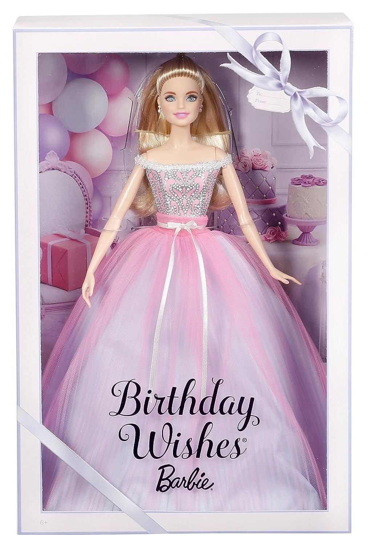 Amazon.es: Barbie Collector, Muñeca feliz cumpleaños 2017 (Mattel DVP49): Juguetes y juegos