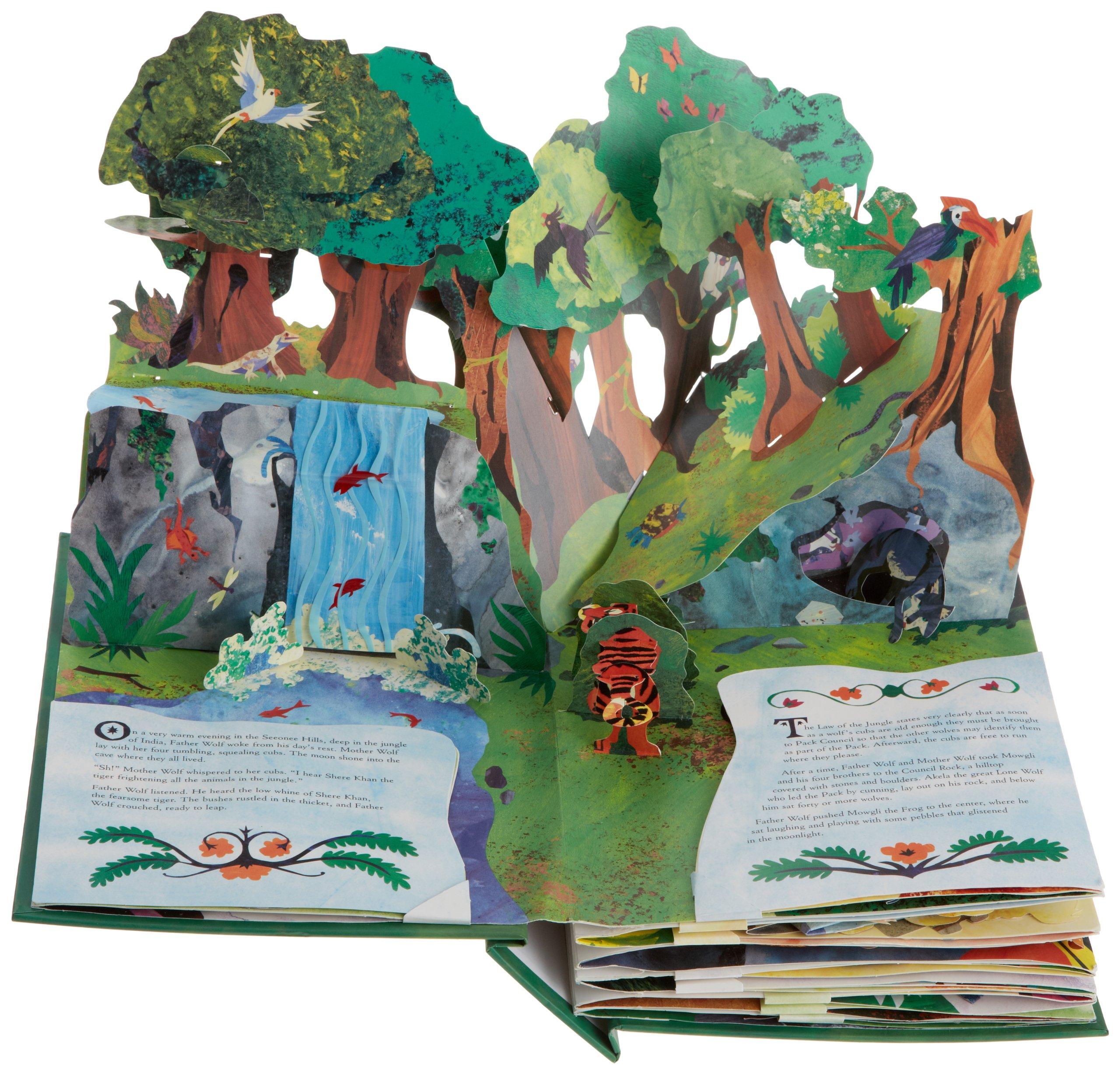 Картинки по запросу The Jungle Book: A Pop Up Adventure
