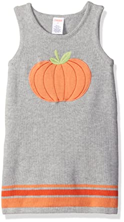 d7ad963e29f Image Unavailable. Image not available for. Colour  Gymboree Girls  Pumpkin  Sweater Dress ...