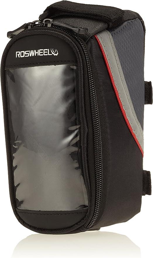 Roswheel - Bolsa para barra de bicicleta con bolsillo para móviles ...