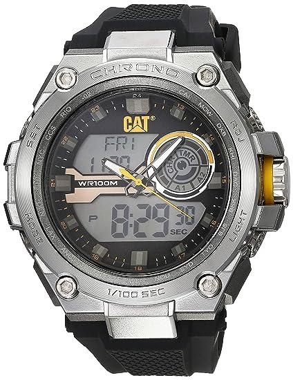 fotos oficiales 99251 a2709 Caterpillar MB14521131 Reloj para Hombre, color Plata, 45.5 mm