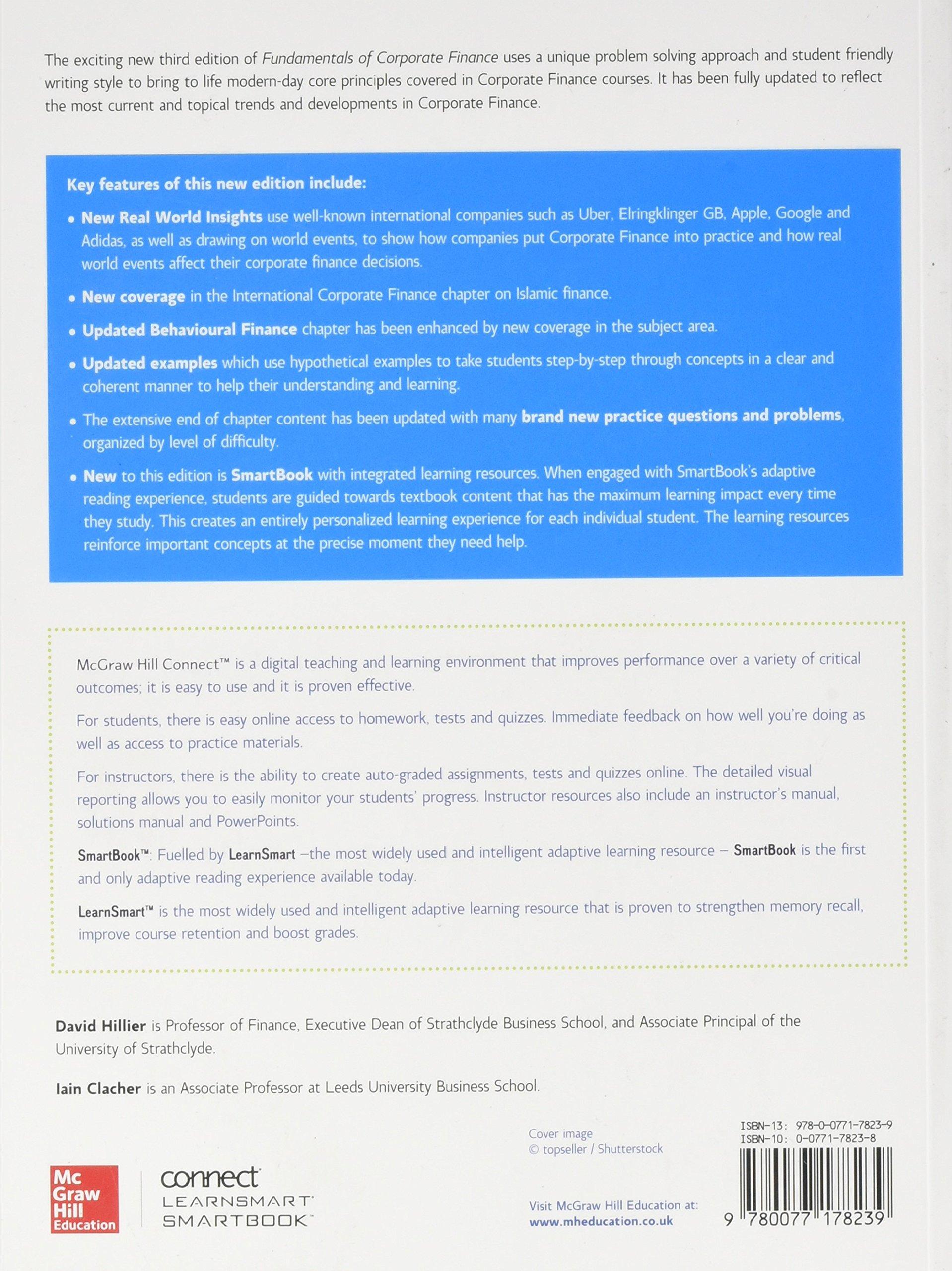 Fundamentals of corporate finance amazon bradford jordan fundamentals of corporate finance amazon bradford jordan randolph westerfield iain clacher stephen a ross david hillier 9780077178239 books fandeluxe Image collections