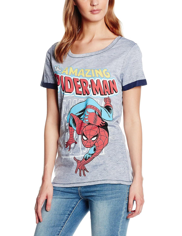 Spiderman T-Shirt,The Amazing Spiderman,Marvel Comics Ladies T-Shirt