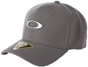 80e0dadb9 Amazon.com: Oakley Men's Tincan Cap, Grigio Scuro, Small/Medium ...