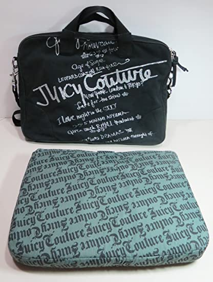 Image Unavailable. Image not available for. Color  Juicy Couture Old School  Scottie Bling Laptop Case ... 45cc387d3667
