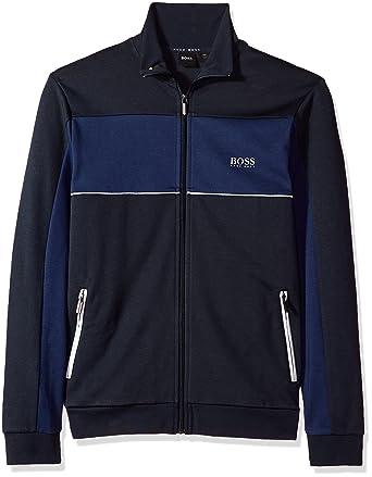 eb9e074b3 Hugo Boss Men's Tracksuit Jacket 10205567 01 at Amazon Men's Clothing store: