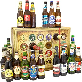 Bier Weihnachtskalender.Bier Adventskalender Welt Mit Tsingtao Saigon Export Cobra Premium Beer Mehr Ein Tolles Geschenk Fur Manner Bierset Geschenk Biersorten
