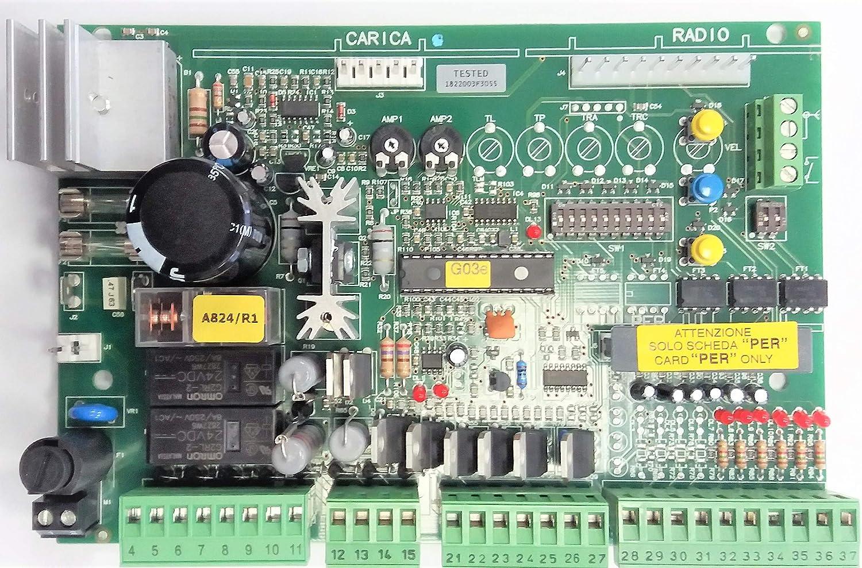 NICE SP081-B centrale de commande carte /électronique pour centrale A824