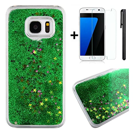 Carcasa Samsung Galaxy S7 con brillos, carcasa Samsung ...