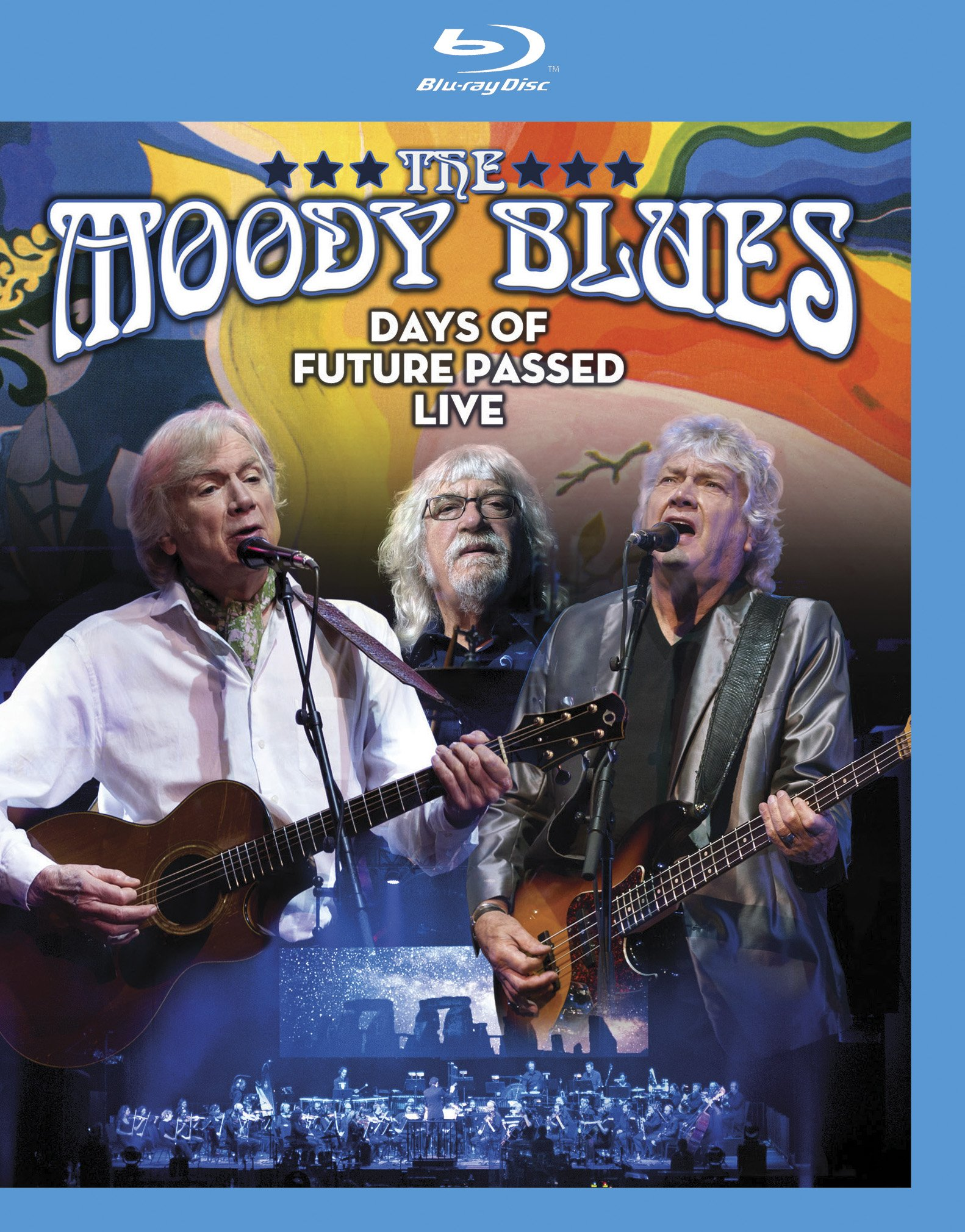 Blu-ray : The Moody Blues - Days Of Future Passed Live (Blu-ray)
