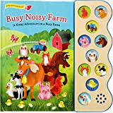 Busy Noisy Farm: Interactive Children's Sound Book (10 Button Sound) (Interactive Early Bird Children's Song Book with 10 Sin