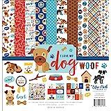 Handmade dog scrapbook page 8\u00d78