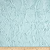 Shannon Minky Luxe Cuddle Hide Sea Glass Fabric By The Yard