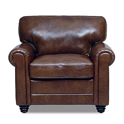 Andrew Italian Leather Chair
