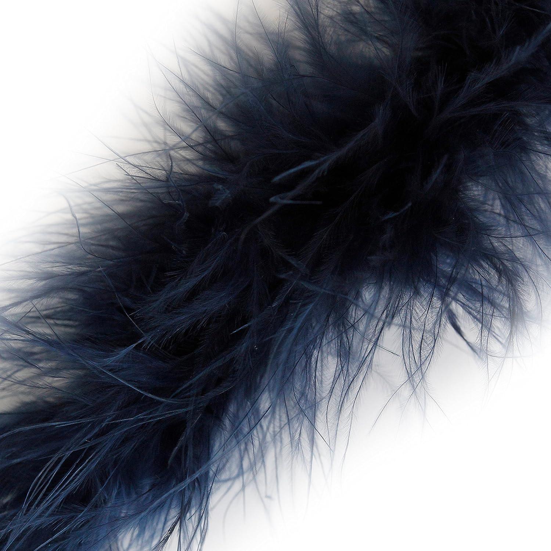 Shocking Pink Choose Colour 1 Metre Marabou Swansdown Feather Trim Soft /& Fluffy Craft