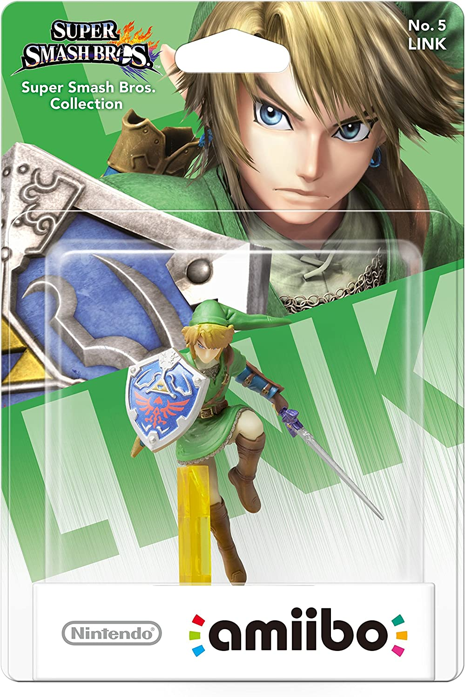 Nintendo - Figura Amiibo Smash Link: Amazon.es: Videojuegos