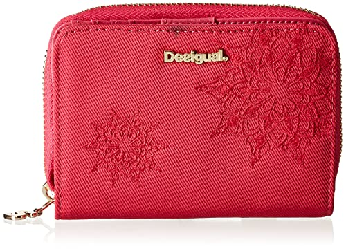 Desigual Magnetic Emma - Monedero Mujer Rojo Rouge (Rose Red ...