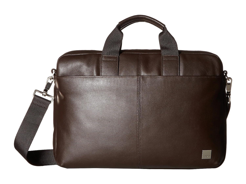 [ノモ ロンドン] KNOMO London メンズ Brompton Classic Durham Slim Briefcase ブリーフケース [並行輸入品]  ブラウン B01MQLQEOO