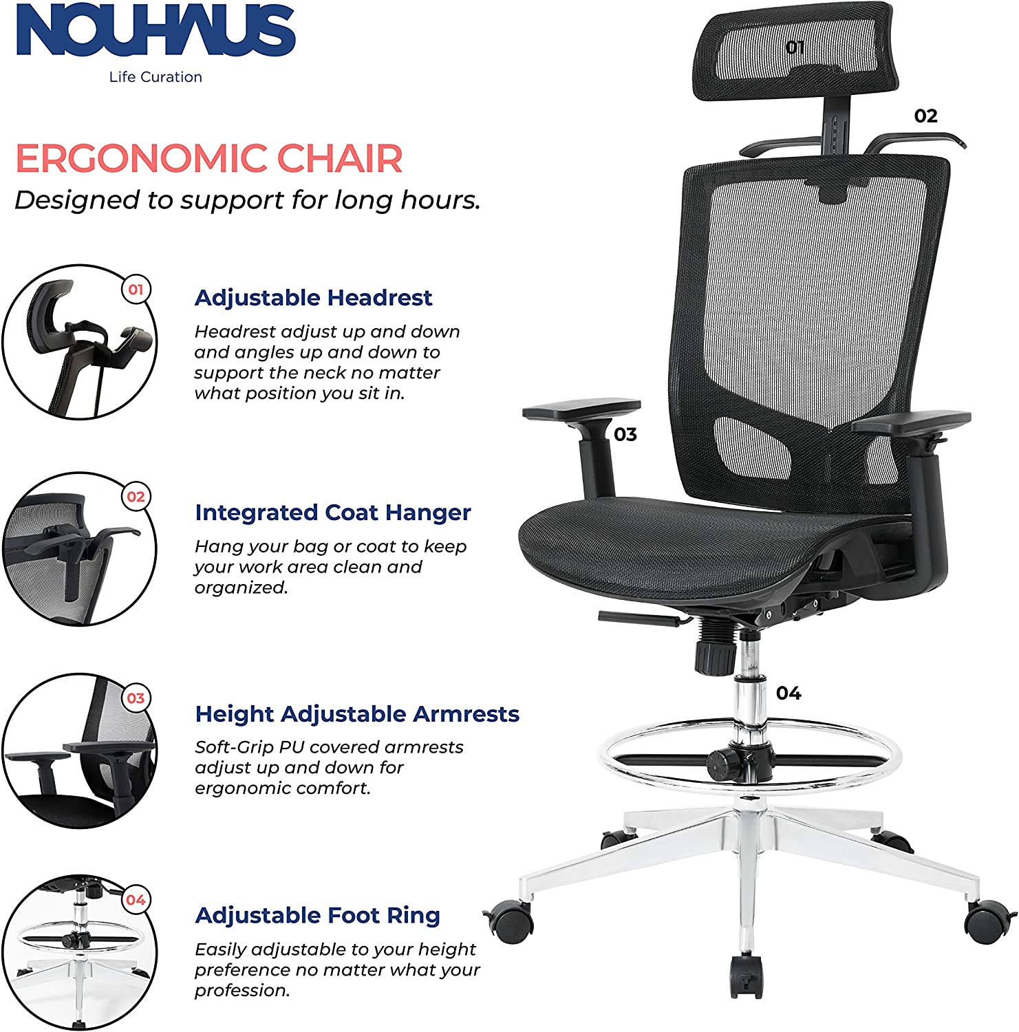 91Z - What Is The Best Drafting Chair For Standing Desk - ChairPicks