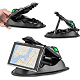 GPS Holder Universal Smartphone NonSlip Dashboard Beanbag GPS Mount for Garmin, Nuvi, TomTom, Via GO and Other Smartphones and GPS(Fits all 3.5 4.3 5 6 7 inch GPS)